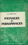 VLAMINCK. - PAYSAGES ET PERSONNAGES.