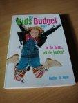 Vente, Martine de - Het kids budget boek. In de groei, uit de kosten.