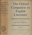 Sir PAUL HARVEY - The Oxford Companion to English Literature compiled and edited by ...