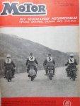 Nortier / Harmse - Motor  - het Nederlandse motorweekblad 43ste jaargang, 1956: nrs 1 t / m 50 + kerstnummer