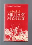 Lamont Brown Raymond - a Casebook of Military Mystery