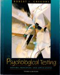 Gregory, Robert J. (ds1371) - Psychological Testing History, Principles, and Applications