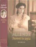 Allende, Isabel .. Uit het Spaans vertaald  en ingeleid  door  Albert Helman en Brigitte Coopmans - Portret in sepia