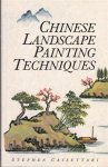 Stephen Cassettari - Chinese Landscape Painting Techniques