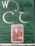 Hoffmann, Max.: - Way down in colon down