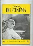 - Cahiers du Cinéma, nr. 81, Mars 1958