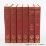 Birkbeck, George / L. F. Powell. - Boswell's Life of Johnson together with Boswell's Journal of a Tour to the Hebrides and Johnson's Diary of a Journal into North Wales - [ Complete set, 6 Volumes ].