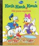 Onbekend - Kwik,Kwak en Kwek. het pizza mysterie.   disney gouden boekje deel 7
