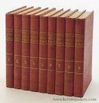 Crispan, Diego Soria de. - Philosophie du droit public, suivi d'un traité de droit constitutionnel. Troisième edition [ original 1853-54 edition in 9 volumes ].