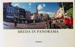 Otten, Gerard.  Dijkstra, Han. (foto's) - Breda in Panorama. 75 Panoramafoto's, waarvan 8 in kleur.