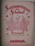 BLAAUW, PIERRE, - Herinneringen aan Schubert.