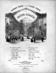 Strauss, Joseph (vermutlich): - Favorit Tänze für das Pianoforte von Joseph Strauss. No. 8. [von 8] Laure-Polka