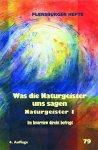 Weirauch, Wolfgang / Staël-von Holstein, Verena (red.) - Flensburger Hefte 79. Was die Naturgeister uns sagen. Naturgeister 1. Im Interview direkt befragt