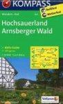 Kompass - Sauerland 1. Hochsauerland - Arnsberger Wald 1 / Wanderkarte mit Kurzführer und Radrouten. GPS-genau