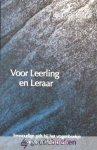 Jong, Ds. Tj. de - Voor Leerling en Leraar *nieuw* --- Eenvoudige gids bij het vragenboekje van ds. A. Hellenbroek