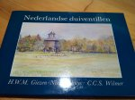 Giezen-Nieuwenhuys, HWM & CCS Wilmer - Nederlandse duiventillen - historische duifhuizen geschilderd en beschreven