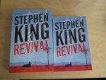 King, Stephen - Revival (cjs) Stephen King (Nederlandstalig) kleine speciale editie 9789021019208 was tijdelijk alleen bij AH verkrijgbaar - Reefman editie - lijkt ongelezen en als nieuw! zie foto's