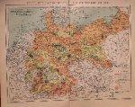 map. kaart. karte. - (Deutschland) Karte der Landwirtschaft im Deutschen Reiche.
