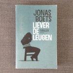 Jonas Boets - Liever de leugen