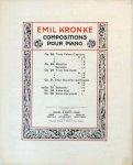 Kronke, Emil: - Saltarello op. 32