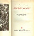 Rawlings, Majorie Kinnan  geautoriseerde vertaling van Mien labberton   ..  illustraties  Anton Pieck. - Gouden oogst,