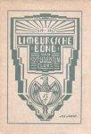 Bosch, Ant. van den / Höppener, R. (redactie) - Limburgsche Bond van R.K. Studentenclubs 1919-1924