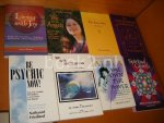 Diverse auteurs. - A Ascension Handbook + The easy Way + Living with Joy + We are the Angels + Spiritual Growth + You own the Power + Be Psychic now! + We, the Arcturians [Set van 8 boeken]