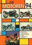 Rijks, A. - Alle Motoren 1994, 207 pag. paperback, gave staat