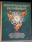 Portielje, A.F.J. - Zeewateraquarium en terrarium