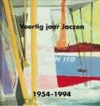 Zwan, Bernadine van der - Veertig jaar Jaczon 1954-1994