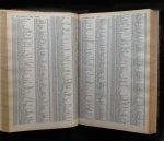 redactie Hallet - Annuaire des assujettis a la TVA -  Jaarregister der BTW-plichtigen Tome I + II , deel 1+2