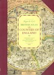 Various - British Atlas (Counties of England), comprising the counties of England with additional maps of England and Wales, and London, grote hardcover + stofomslag, gave staat