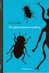 Kafka Franz .. Omslagontwerp :  Ivo Scholtz - De gedaanteverwisseling .. deel 1 serie Verboden Boeken , de Volkskrant .