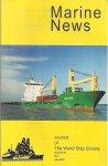 - Marine News, Journal of the World Ship Society. Vol.55, no.7 july 2001