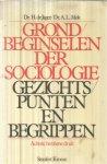 De Jager / Mok - Grondbeginselen der sociologie - Gezichtspunten en begrippen