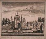 antique print (prent) - (Alkmaar, Friese Poort). Gesigt van de Vriesse Poort.