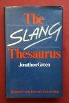 green, jonathon - slang thesaurus, the