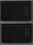 Zeij, Jac J - Eerste + tweede halfjaar ( 2 boekjes ) Korte overwegingen voor Mariacongreganisten