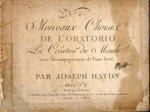 Haydn, Joseph: - [Hob. XXI: 2] Morceaux choise de l`oratorio La création du monde avec accompagnement de piano. No. [handschr.:] 6
