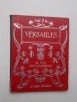 red. - Versailles. 32 vues photographiques.