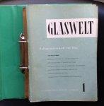 Schwertfeger  Rolf e.a. (redactie) - GLASWELT  Halbmonatsschrift für Glas 1957