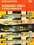 Ward, Richard & Francis K. Mason - Aircam Aviation Series 39 + 40 + 42+ 43, Messerschmitt Bf 109B, C, D, E + Bf 109 + Bf109F-G + Bf 109B, C, D, E, F, G + , four volumes, paperbacks, goede staat