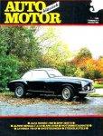 - ALFA ROMEO 1900 / BMW 2002TII / ALPINE RENAULT A110 / LAVERDA 750 SF, artikel uit AUTO MOTOR