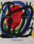 n.v.t. - Impressionist & Modern Art    sotheby's new york auction catalogue afternoon  8 may 2008