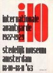 Lehning, A. (text) ; Jurriaan Schrofer (design) - I 10 : internationale avantgarde 1927-1929
