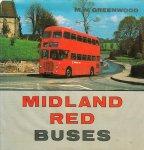 M.M. Greenwood - autobussen - Midland Red Buses