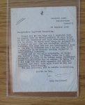 Fabricius, Jan (met getypte brief van auteur uit 1946) - Jeugd-Herinneringen van een Asser Jongen