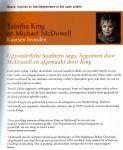 Tabitha King (vrouw van) & Michael Mc Dowell - Kaarsen Branden (cjs) Tabitha King (de vrouw van Stephen King) 9789024561216 (NL-talig) NIEUW en ongelezen boek, dus in perfecte staat! Bijna niet aan te komen. Musthave voor de Kingfan om gelezen te hebben!