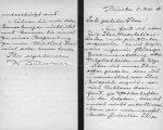 Courvoisier, Walter: - [Eigenh. Brief mit Ort, Datum, und Unterschrift]