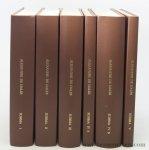 Alexandri de Hales : Bernardini Klumper / P. Bonaventurae Marrani / P. Pacifici M. Perantoni / P. Constantini Koser - Alexandri de Hales, Summa theologica. 1. Liber primus 1924. 2. Prima pars secundi libri, 1928 (1997). 3. Secunda pars secundi libri, 1930. 4/1. Liber tertius: prolegomena, 1948. 4/2. Liber tertius, 1948. 5. Indices in tom. I-IV. [ 5 volumes in...